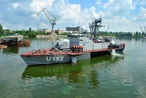 Единственный ракетный катер ВМС Украины вышел на испытание после ремонта (ФОТО)