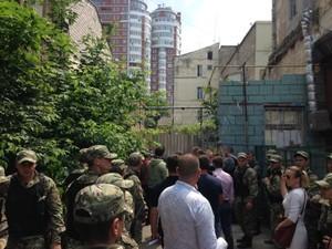 Нахалстрой в центре Одессы: охрана стреляла в сотрудников мэрии (ФОТО)