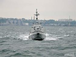 Новейшие бронекатера ВМС Украины испытываются под Одессой в штормовом море (ФОТО)