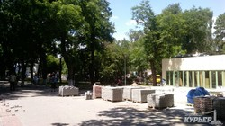На Куликовом поле в Одессе построили новый МАФ