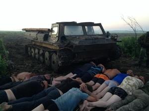 Спецоперация против нелегальной добычи янтаря в Ровненской области: изъята бронетехника