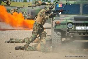 """Сухопутная фаза учений """"Си-Бриз"""": борьба с условными сепаратистами (ФОТО)"""