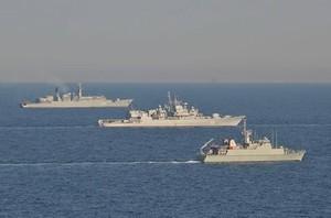"""Перед """"Си-Бризом"""" флагман ВМС Украины принял участие в еще одних международных учениях"""
