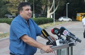 """Саакашвили рассказал, что именно он является автором строительства ЗАГСа в """"будке"""" на зеленой зоне около обладминистрации (ФОТО, ВИДЕО)"""