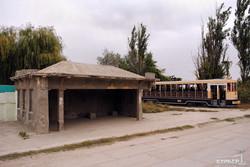 """КП """"Одесгорэлектротранс"""" обещает следить за старинными трамвайными остановками (ФОТО)"""