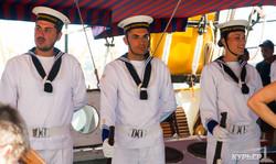Итальянский парусник Palinuro в Одессе (ФОТО)