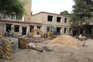В центре Одессы восстанавливают детский сад