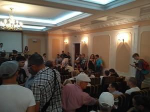 Слушания по переименованию одесских улиц сорвали праворадикалы