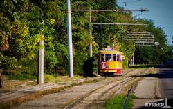 1 сентября с ветерком для одесских школьников на ретро-трамвае (ФОТО)
