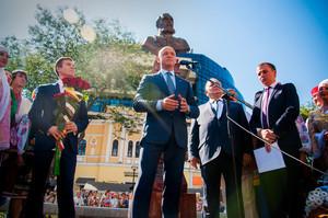 Как в Одессе открывали памятник великому градоначальнику (ФОТО)