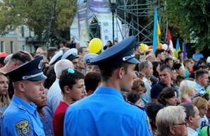 День города: аншлаг на Потемкинской лестнице (ФОТО)
