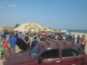 Полиция не смогла предотвратить массовую драку в национальном парке на юге Одесской области (ФОТО)
