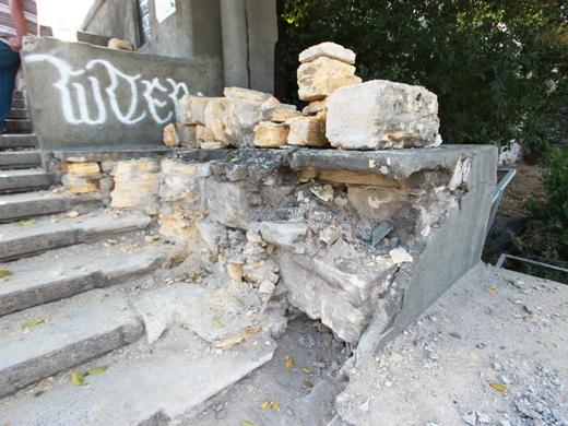 Ремонт Потемкинской лестницы