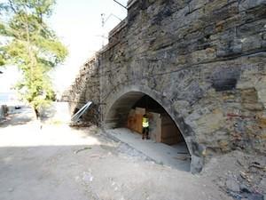Под Потемкинской лестницей уже восстановили тоннель-проход (ФОТО)