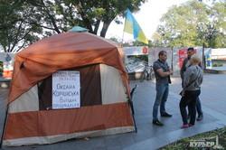 После драк и поджога палаток на Думской началась ярмарка (ФОТО)