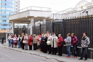 Одесситы требуют у властей России прекратить притеснения крымских татар