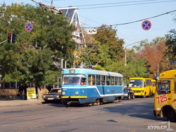 одесский трамвай на преображенской