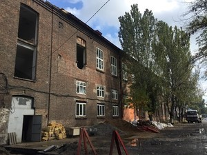 В Одессе продолжается строительство дома для бездомных