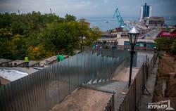 Как в Одессе ремонтируют Потёмкинскую лестницу (ФОТО)