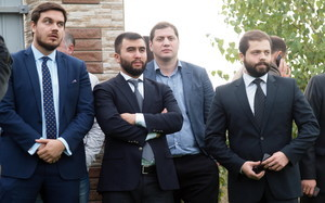 Новыми замами Саакашвили станут три бородача