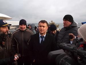 В Киеве отключили от канализации заведение одесского депутата-дельфиновода