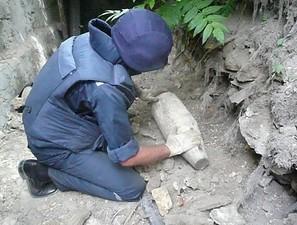 В этнодеревне Фрумушика-Нова нашли арсенал старых боеприпасов