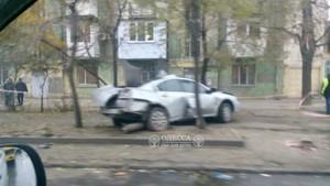 Отбойник не спасает: улица Среднефонтанская в Одессе остается местом постоянных аварий (ФОТО)