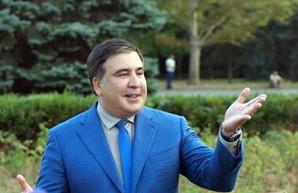 Саакашвили не просто ушел в отставку, а вообще уехал из Одессы