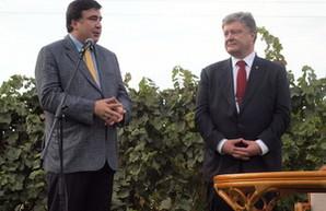 Порошенко: Саакашвили уволен