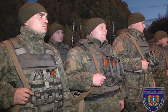 """Бойцы одесского """"Шторма"""" отправились в зону АТО"""