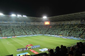 Ночь футбола в Одессе: марш ультрас, аншлаг на стадионе и победа Украины (ФОТО, ВИДЕО)