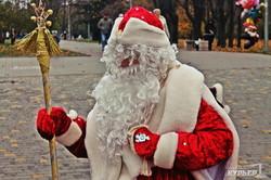 Дед Мороз уже гуляет по Одессе (ФОТО)
