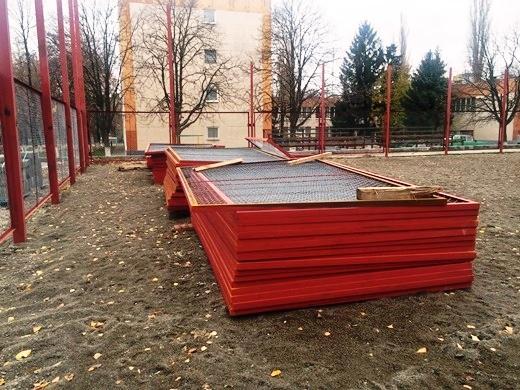 В Одессе ремонтируют школьные стадионы