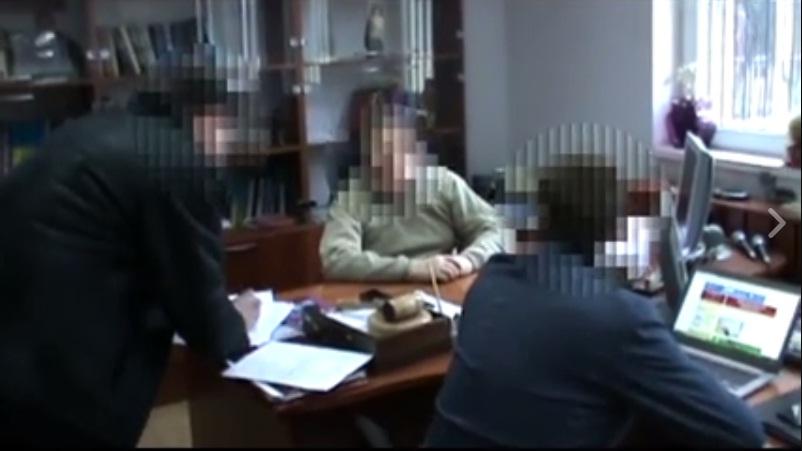 Во время задержания