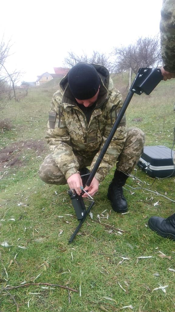 23.11.2016 14:38 В Одесской области пограничники Украины и Молдовы провели обследование границы