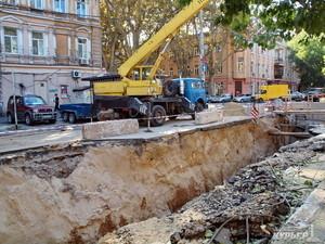 Одесскому департаменту муниципальной безопасности поручили следить за уличными раскопками
