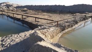 Продолжается реконструкция соединительного канала Тилигул - Черное море (ФОТО)