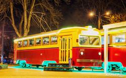 В Одессе заработало трамвайное кафе на Фонтане (ФОТО)