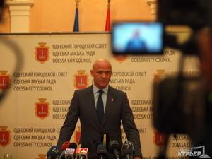 Мэр Одессы отчитывается перед одесситами (прямая трансляция)