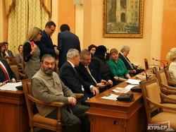 Отчет Труханова перед одесситами в фотографиях