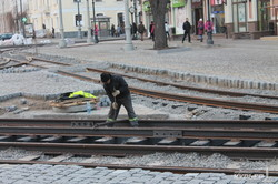 Реконструкция Тираспольской площади в Одессе уже в завершающей фазе (ФОТО)