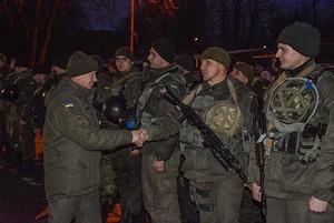 Бойцы Нацгвардии вернулись из зоны АТО в Одессу