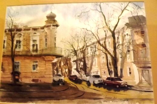 К 20-летию паромного сообщения между Украиной и Грузией в Одессе открылась выставка