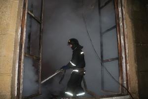 В Одессе сгорел Дом культуры (ФОТО)