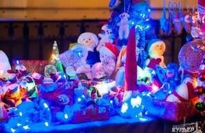 В одесской Кирхе открылась Рождественская ярмарка (ФОТО)