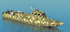 """Для ВМС Украины заложены первые два бронированных десантных катера """"Кентавр"""""""