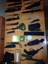 Одесские пограничники задержали украинца с 27 ножами и стартовым пистолетом (ФОТО)