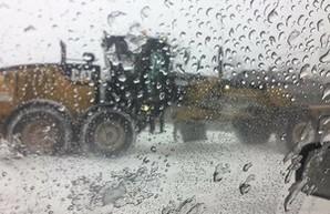 Юг Одесской области заблокирован снегом (ФОТО)