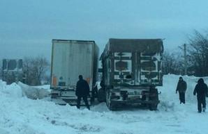 Дороги Одесской области все еще закрыты