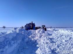 Дорога Белгород-Днестровский - Монаши полностью расчищена от снега (ФОТО)